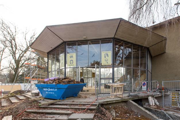 Das Sachs-Foyer ist denkmalgeschützt und bleibt erhalten.