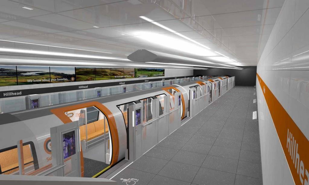 Blitzeblank: Das ist die Stadler U-Bahn