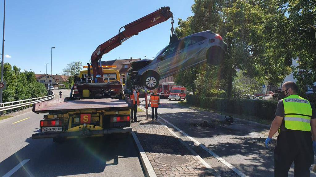 Auto geklaut - Unfall gebaut