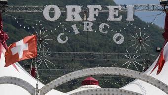 Beim Training mit Tigern des italienischen Zirkus Orfei ist der bekannte Dompteur Ettore Weber von den Raubkatzen angefallen und tödlich verletzt worden.