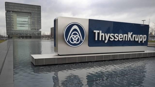 Der Hauptsitz von ThyssenKrupp im deutschen Essen (Archiv)