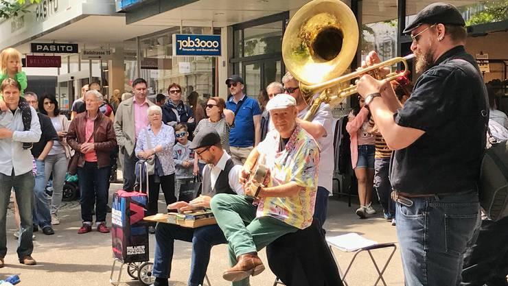 Solche Bilder wird es dieses Jahr nicht geben: Das Bluesfestival Baden ist abgesagt. (Archivbild von 2018)