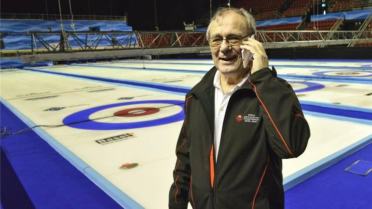 «Mister Curling» Bruno Schallberger ist Herz und Hirn der WM.
