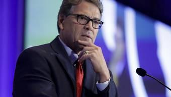 Ist in der Ukraine-Affäre unter Druck geraten: US-Energieminister Rick Perry. (Archivbild)