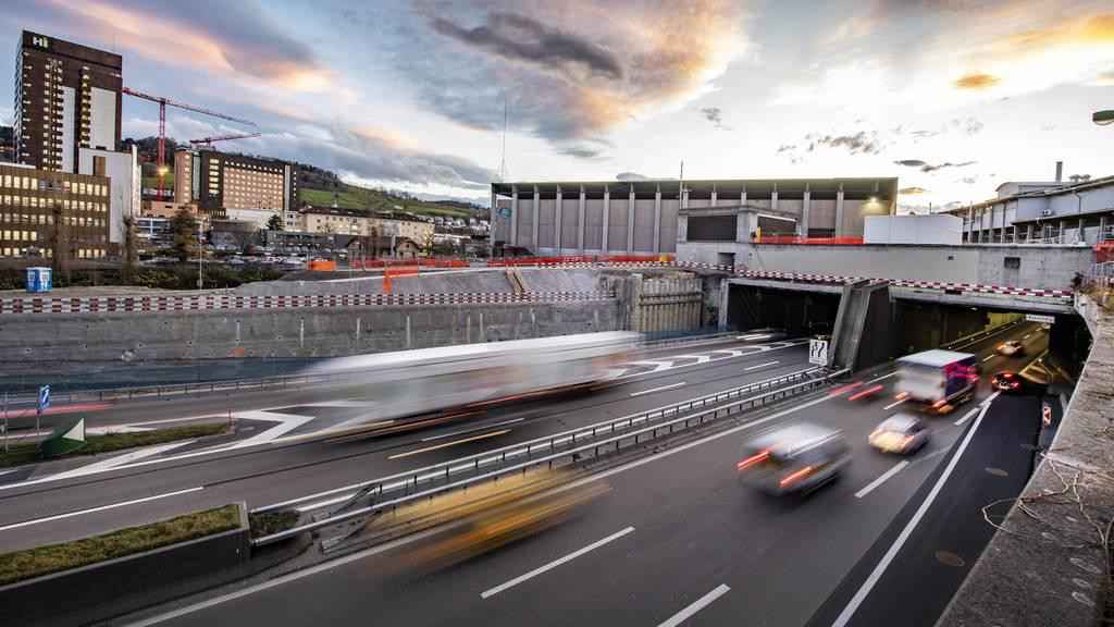 Autobahn A1 St.Gallen Bau