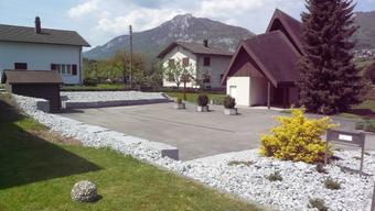 Die Umgebung der Kapelle wurde neu gestaltet.