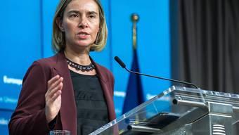 EU-Aussenbeauftragte Federica Mogherini will die Liste der sanktionierten Syrer verlängern. (Archivbild)