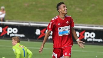 Der FC Baden und Marvin Spielmann wollen auf die Siegesstrasse zurückkehren.
