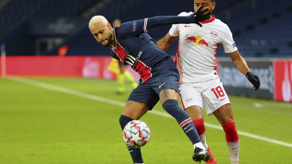 Paris Saint-Germain gewinnt 1:0 gegen RB Leipzig