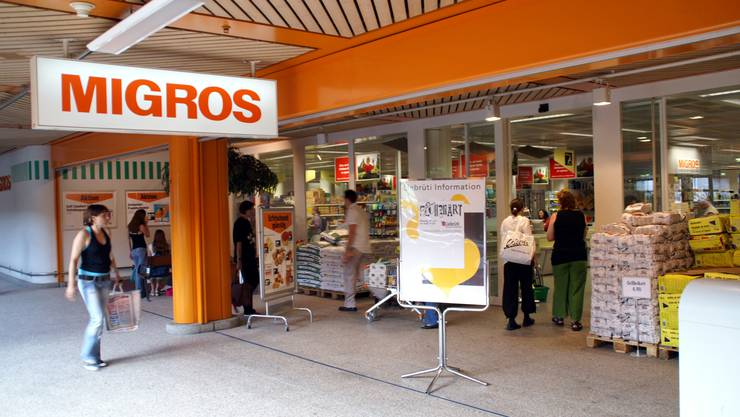 Die Migros-Filiale in Kaiseraugst ist ab dem 3. Mai geschlossen. Bild: Archiv