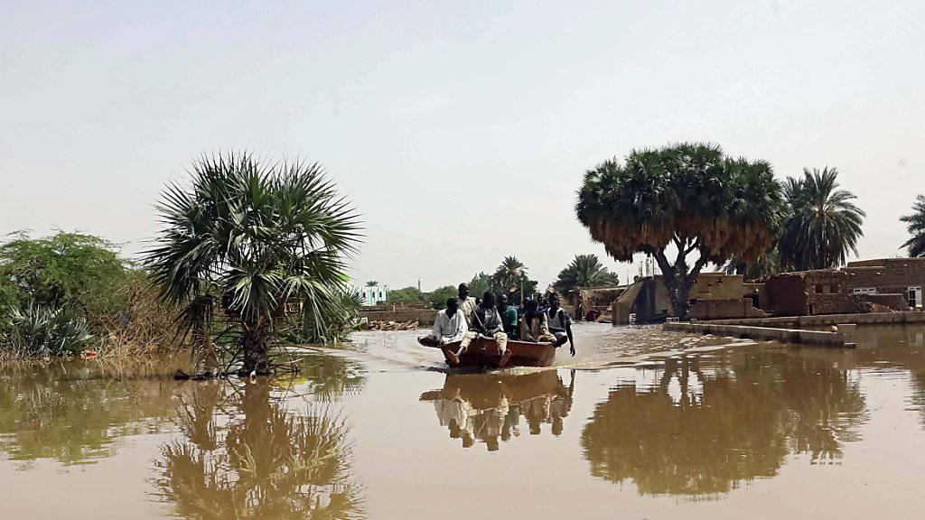 62 Tote wegen Überschwemmungen im Sudan