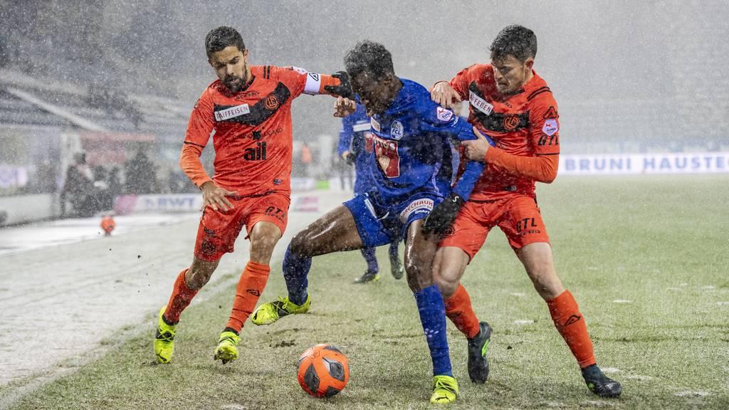 1:1-Unentschieden zwischen FC Luzern und FC Lugano