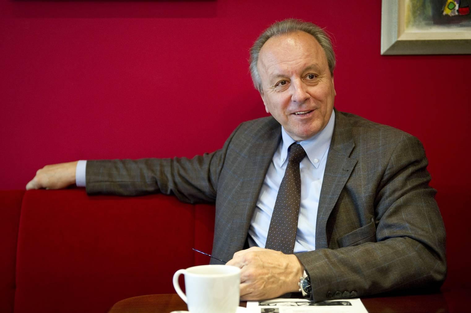 Elmar Jud, Verwaltungsratspräsident der Cityparking AG (Bild: Tagblatt/Urs Bucher)