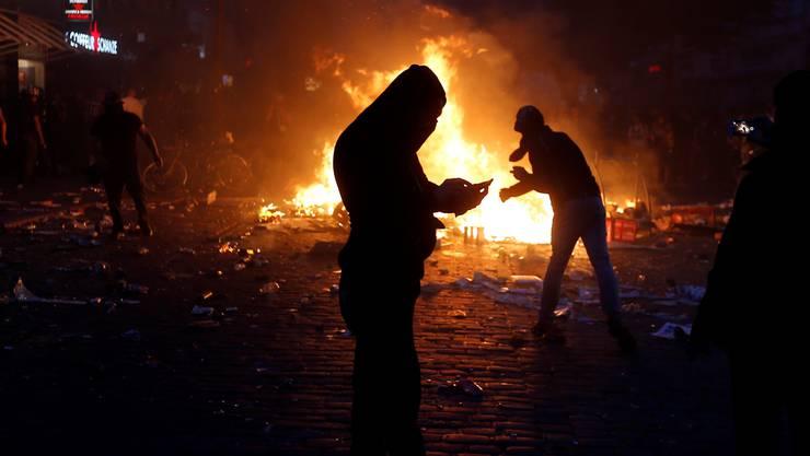 Die Mitglieder des Schwarzen Blocks anerkennen keine Autoritäten, sind aber gut organisiert – wie rund um den G20-Gipfel in Hamburg.Michael Probst/Keystone