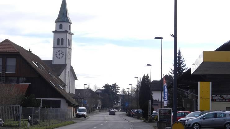 Der Lastwagenverkehr, der vom Wissensteinfeld in Derendingen herkommt, dürfte sich durch die Hauptstrasse zwängen.