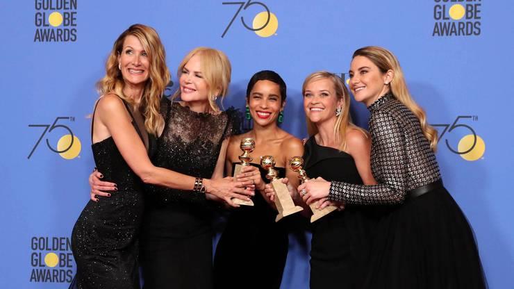 Beste Schauspielerin TV-Film: Nicole Kidman, und Beste Nebendarstellerin TV-Film: Laura Dern, in«Big Little Lies»