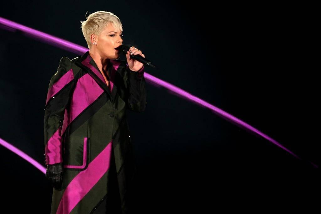 Sängerin Pink ist seit über 17 Jahren auf internationalen Bühnen unterwegs