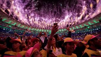 Eröffnungsfeier zu den Olympischen Spielen in Rio