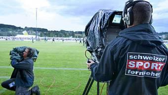 Kameramann des Schweizer Sportfernsehens