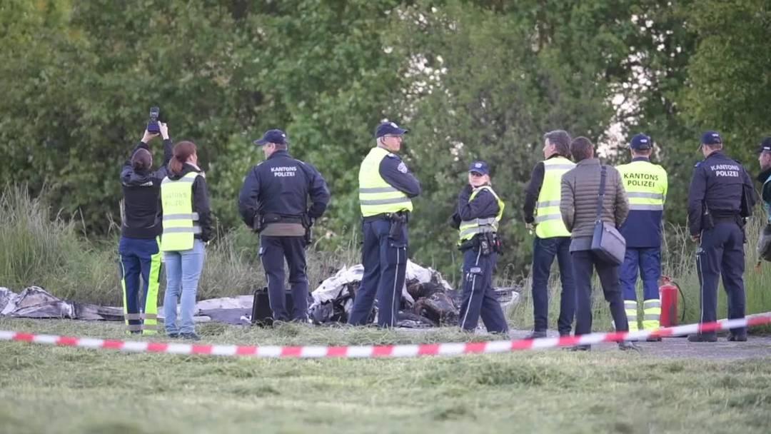 Pilot bei Absturz in der Nähe von Flugplatz Birrfeld getötet (14.5.2019)