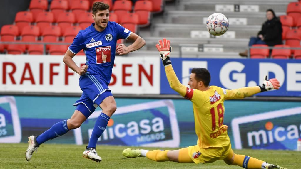 FC Luzern holt ein 1:1 im Wallis