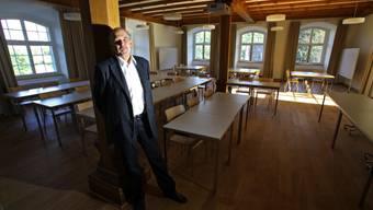 Kurt Wiedemeier, der Rektor der Kanti Wettingen