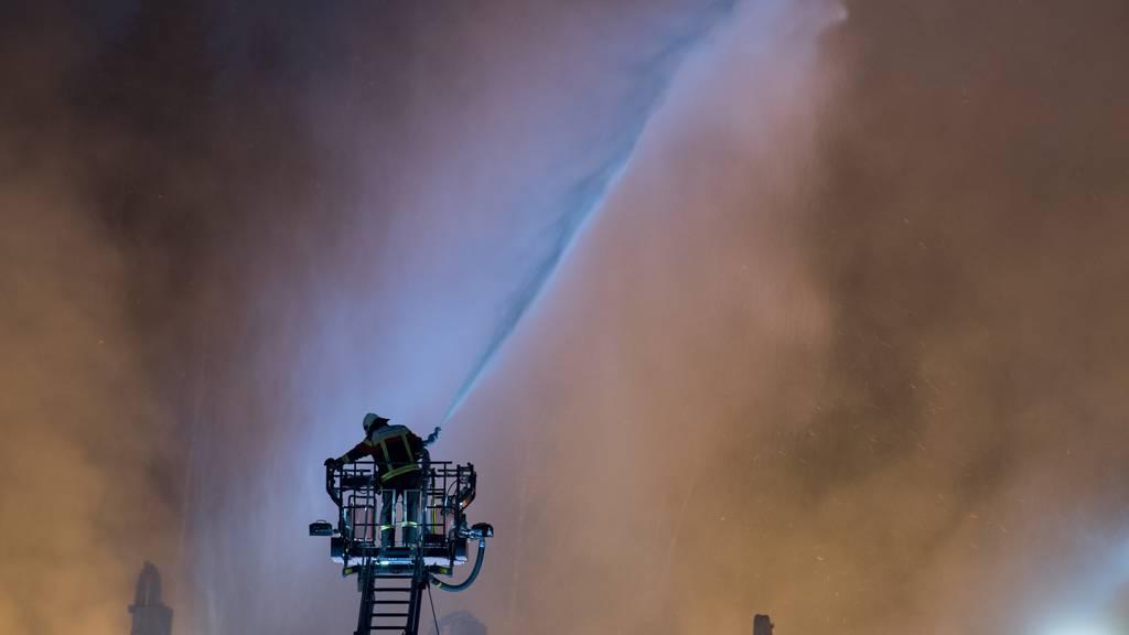 Feuer in Utzenstorf