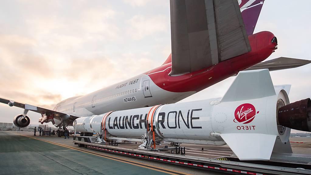 Der Start einer Rakete von Virgin Orbit ist am Montag (Ortszeit) abgebrochen worden.
