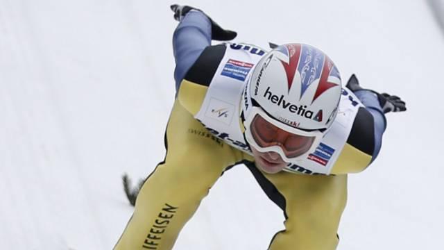 Ob Simon Ammann noch in St. Moritz springen wird?