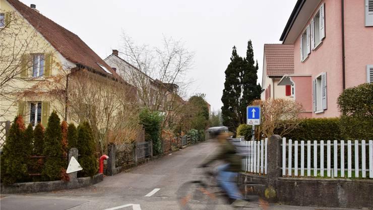Die Liegenschaften am Wiesenweg in Windisch gehören laut dem neuen Bauzonen- und Kulturlandplan zur Zone W2 mit Nachverdichtung. mhu