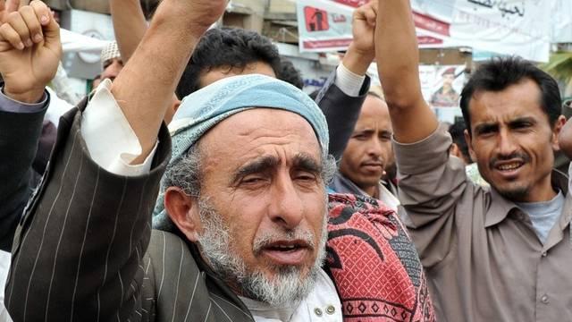 Regierungsgegner protestieren in Sanaa