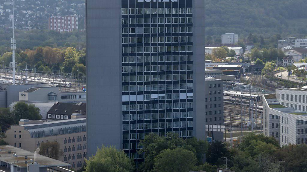 Beim Spezialchemiekonzern Lonza soll eine Sparte ausgegliedert werden. (Archivbild)