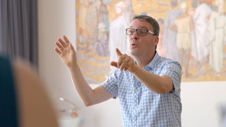 Dirigent Sebastian Goll leitete für die beiden Passionen 240 Sänger.