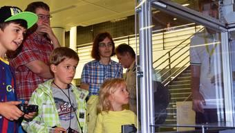 Fachhochschule Nordwestschweiz. Am Samstag war Tag der offenen Tür im Campus Brugg-Windisch.