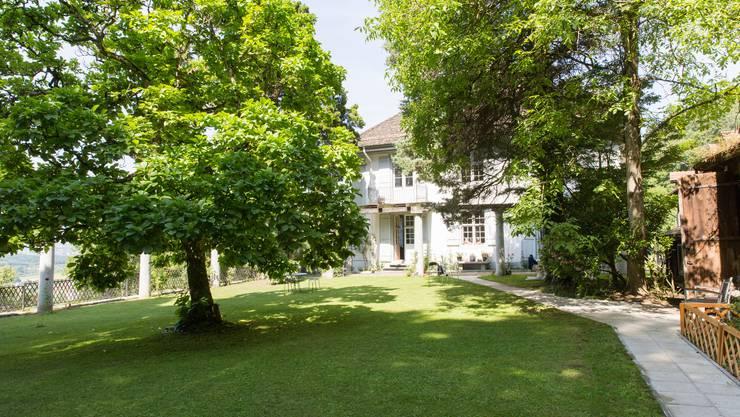 Garten der Villa Sparrenberg in Unterengstringen.