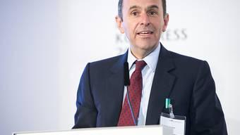 Tamedia-Verwaltungsratspräsident Pietro Supino erhält den Preis für den Unternehmer des Jahres vom Wirtschaftsprüfungs- und Beratungsunternehmen EY. (Archiv)