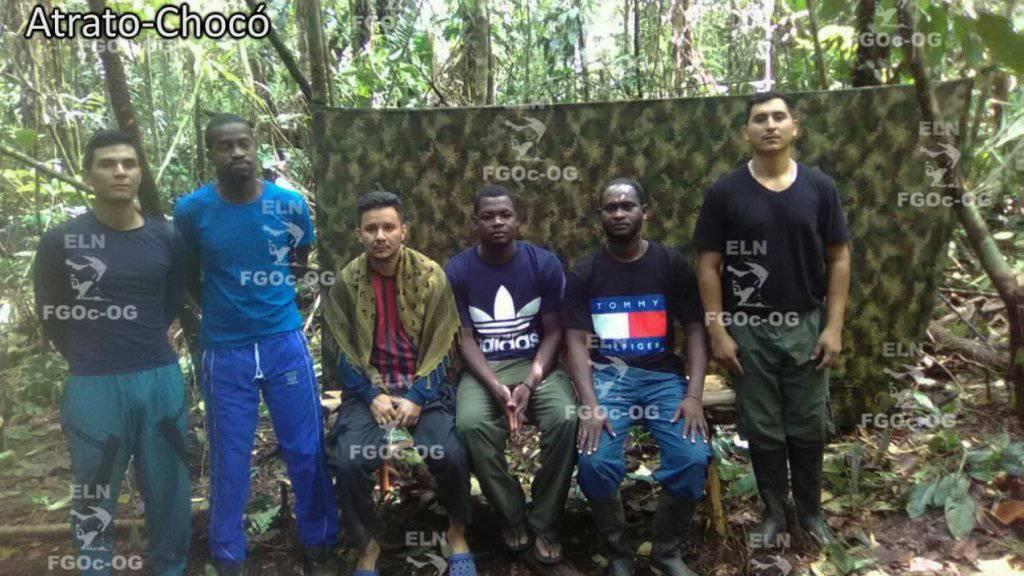 Die kolumbianische Männergruppe war Anfang August in der Region Chocó an der Grenze zu Panama entführt worden. (Archivbild)