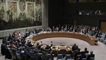 Der Uno-Sicherheitsrat stimmt über die Resolutionen zu Syrien ab.