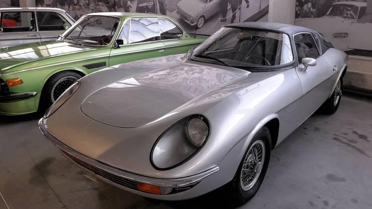 Schmuckstück: Der BMW Hurricane, ein von Schweizer Werkstudenten zusammengebauter Prototyp.
