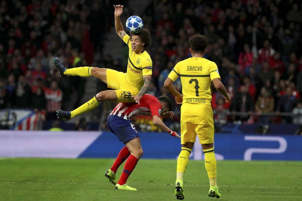 Atlético Madrid vs. BVB (© Keystone)