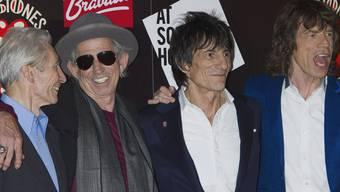 Spielen in Kuba: Die Rolling Stones (Archiv)