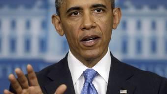 Syrien überschreitet Obamas Rote Linie mit Giftgas-Einsatz (Archiv)