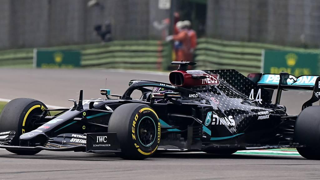 Mercedes-Doppelsieg in Imola – Alfa Romeo punktet mit beiden Autos