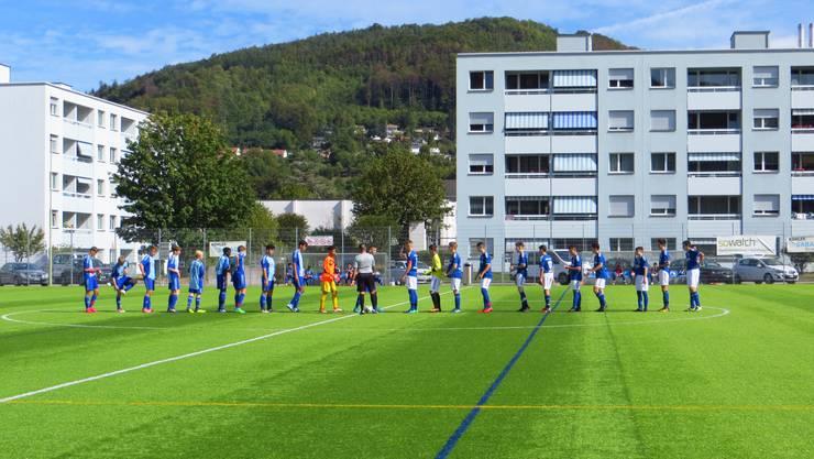 FC Frenkendorf und BSC Alemannia Basel auf dem Kittler in Frenkendorf  Ein Meisterschaftsspiel