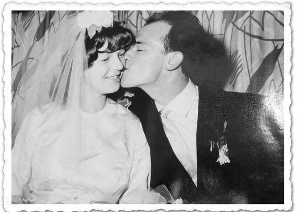 Am 30. April 1960 haben Beatrice und Charles Rätz geheiratet.