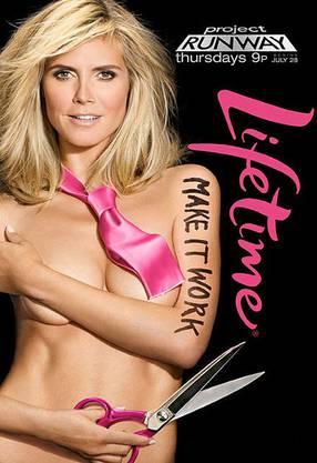 Heidi Klums Werbekampagne für ihre Sendung «Project Runway»