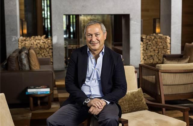 Der ägyptische Unternehmer Samih Sawiris, hier im luxuriösen Hotel The Chedi, glaubt weiterhin an Andermatt.
