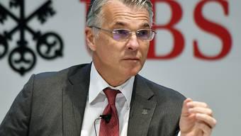 UBS-Chef Sergio Ermotti will die Investoren nach dem Urteil im Prozess in Paris beruhigen: Die Ausschüttungen an Aktionäre würden nicht angetastet. (Archiv)