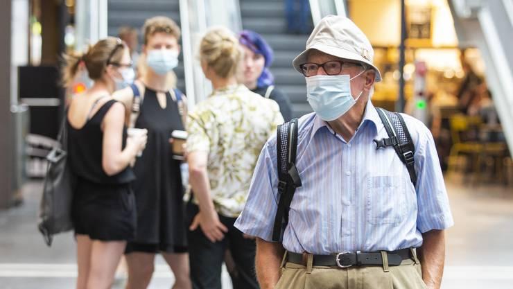 Bei gewissen Menschen verursacht nur schon der Gedanke an eine Schutzmaske Atemnot.