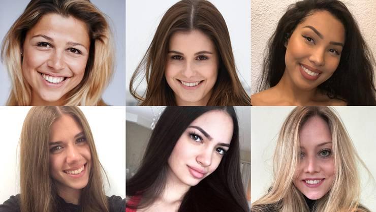 Alle Miss-Schweiz-Kandidatinnen finden Sie in der Bildergalerie.